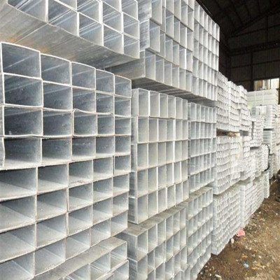 ASTM 1020 galvanized square and rectangular steel pipe