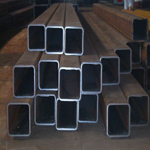 ASTM A53A square shape steel pipe for bridge construction