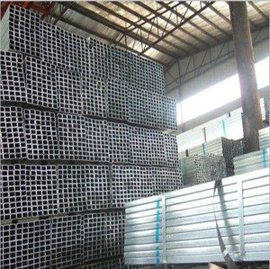 2017 best sale 60x60 hot galvanized steel square pipe