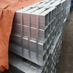 ASTM A53 Galvanized Building Construction Hollow Section Steel Pipe