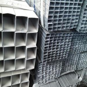 10x20-800x400mm Mild Carbon galvanized Rectangular Steel Pipe