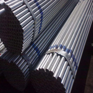 Good choice BS 1387B galvanized steel pipe with high quality