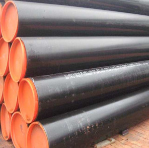 API 5L Gr B 36 Inch Large Diameter Schedule 40 Black Low Carbon Steel Pipes