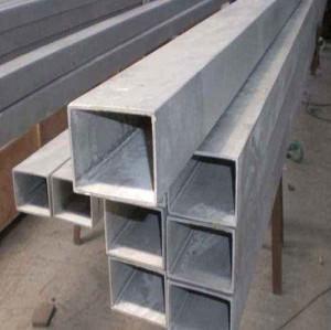 20 Inch Carbon Pre Galvanized Rectangular pipe