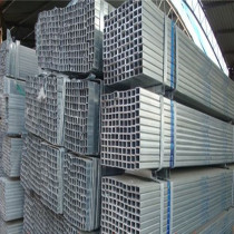 pre galvanized structure steel pipe 80x100 rectangular tube