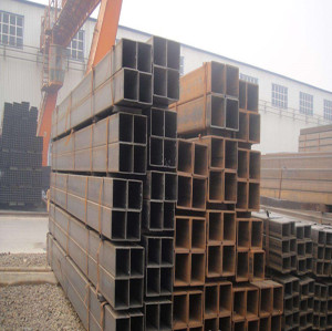 Hot Rolled Black Rectangle  Carbon Steel Pipe