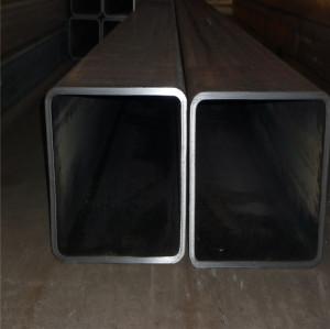 Hot saled EN10219 S235JR 50x70 rectangular steel pipe with oiled coating
