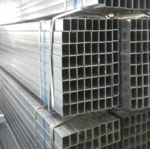 BS 1387 Hollow Section Pre-galvanized Steel Pipe