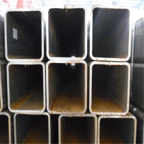 ASTM A500 Gr. A 75x75 rectangular steel pipe with oiled coating