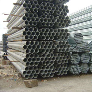 hot dip galvanized ASTM A36 schedule 40 steel pipe