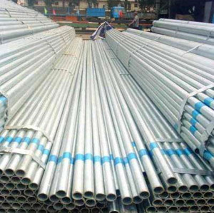 galvanized round hollow section steel pipe
