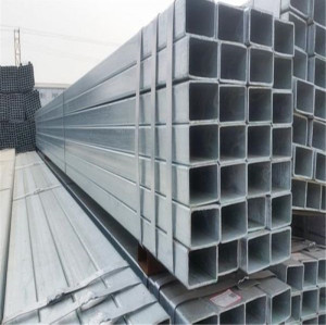 Quality 8 inch thin wall mild welded galvanized square steel pipe for sale