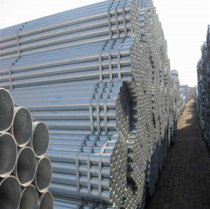 hot sale 350mm diameter galvanized round seamless steel pipe