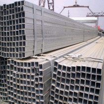 Hot dipped Galvanized seamless Rectangular/  Square Steel Pipe
