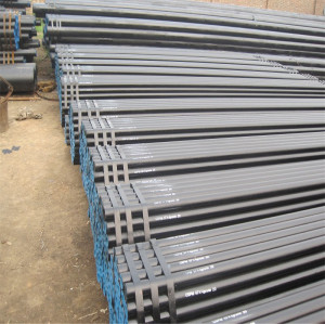 cold rolled seamless steel pipe made of A53B steel coated gas pipe