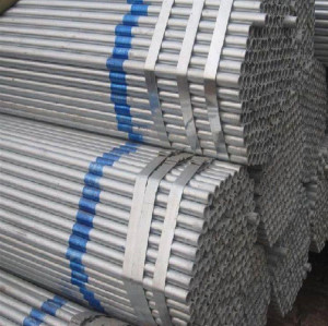 hot dipped galvanzied pipe steel for greenhouse framework 2.5 inch steel pipe