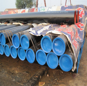 A53 18 inch 140mm schedule 40 carbon seamless steel pipe