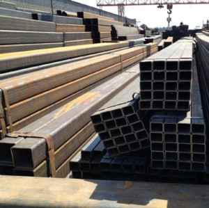 120x120 mm Diameter Steel Pipe  Square Steel Pipes And Tubes for Urban Build Construction