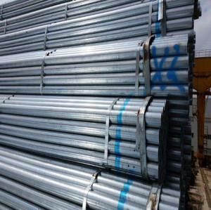 Light Weight Pre Galvanized Greenhouse 40x40mm Steel Pipe