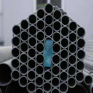 50 mm diameter BS1387 class B galvanized steel pipe/Gi pipe
