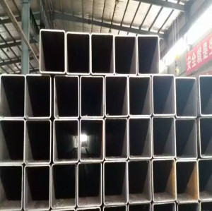 S275JR seamless square steel pipe / rectangular steel pipe