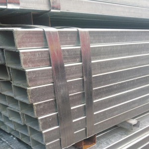galvanized 60x60 square steel pipe tube pre-galvanized rectangular steel hollow section