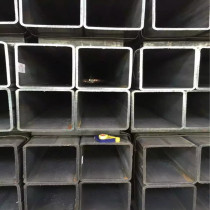 welded square tubes with A36 Gr.B 25x50 square rectangular steel pipe