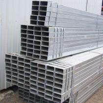 Building materials galvanized rectangular steel pipe