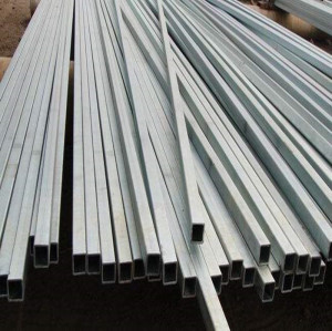 10x50mm rectangular gi square steel pipe