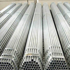 galvanized steel pipe/EN 10255 galvanized pipe for construction