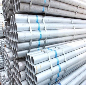 lowest price BS 1139 galvanized steel pipe