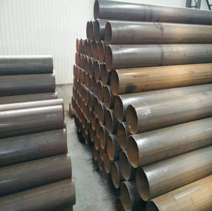 ERW A53 Gr.A Black Welded Round Steel Pipe for Furniture pipe mild steel pipes