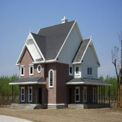 China designed frame light gauge steel house villa
