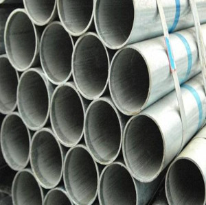 hot dipped steel pipe galvanized steel pipe