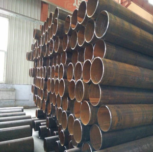 LSAW STEEL PIPE SCH40 STPG370 CARBON STEEL PIPE