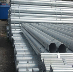 BS 1387 CLASS B 6 INCH Hot dipped galvanized round steel pipe
