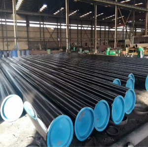 X60 carbon straight slit steel pipe for industry