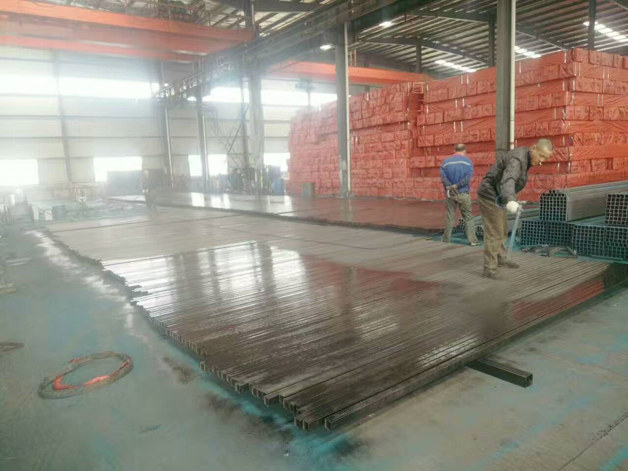 s355j2h square steel tube