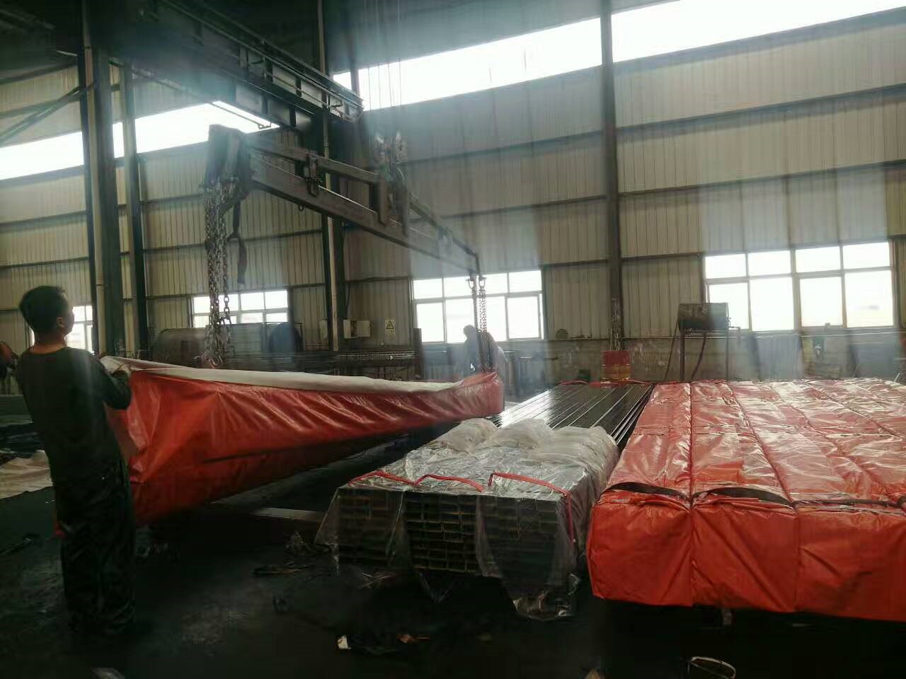 square structure steel tube