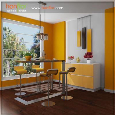 Hanflor easy-clean vinyl flooring for drawing room