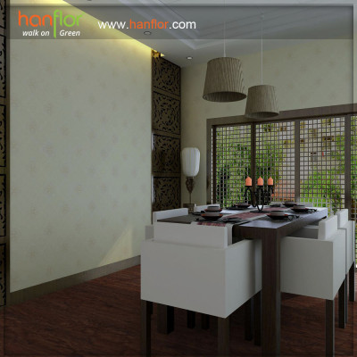 Hanflor durable vinyl flooring for drawing room