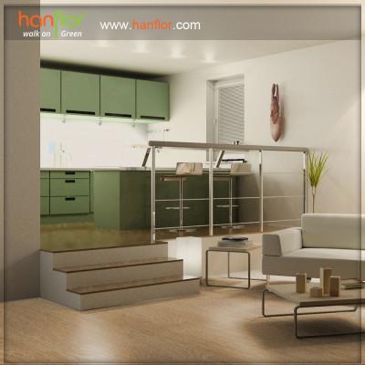 Hanflor easy-clean vinyl flooring for parlour