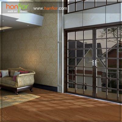 Hanflor glue-less vinyl flooring for parlour