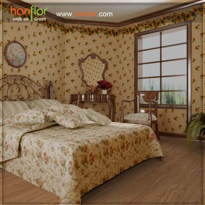 Hanflor sound absorption vinyl flooring for parlour