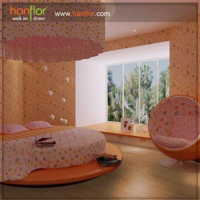 Hanflor shock-resistance vinyl flooring for parlour