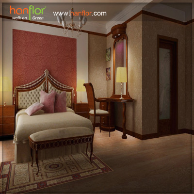 Hanflor waterproof vinyl flooring plank for bedroom