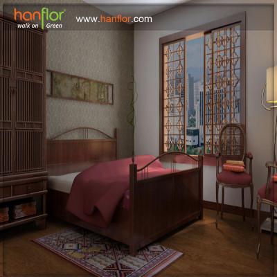 Hanflor easy-clean vinyl flooring plank for bedroom