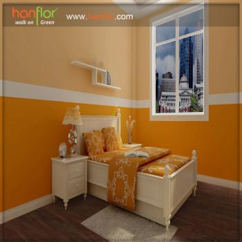 Hanflor easy install  vinyl flooring plank for bedroom