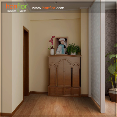 Hanflor waterproof vinyl plastic flooring plank for living room