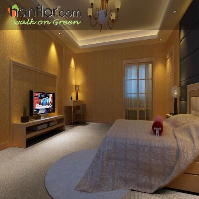 Hanflor waterproof pvc floor for bedroom